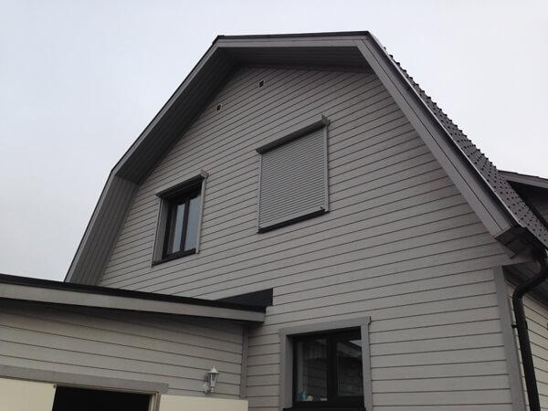 Villa i Eskilstuna,skjutdörr 4,5m, fönster,alu rullgardiner
