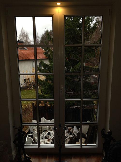 Villa i Taby, fönster och dörrar